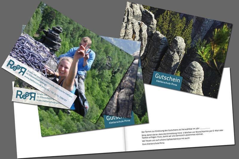 Gutschein Kletterschule Pirna